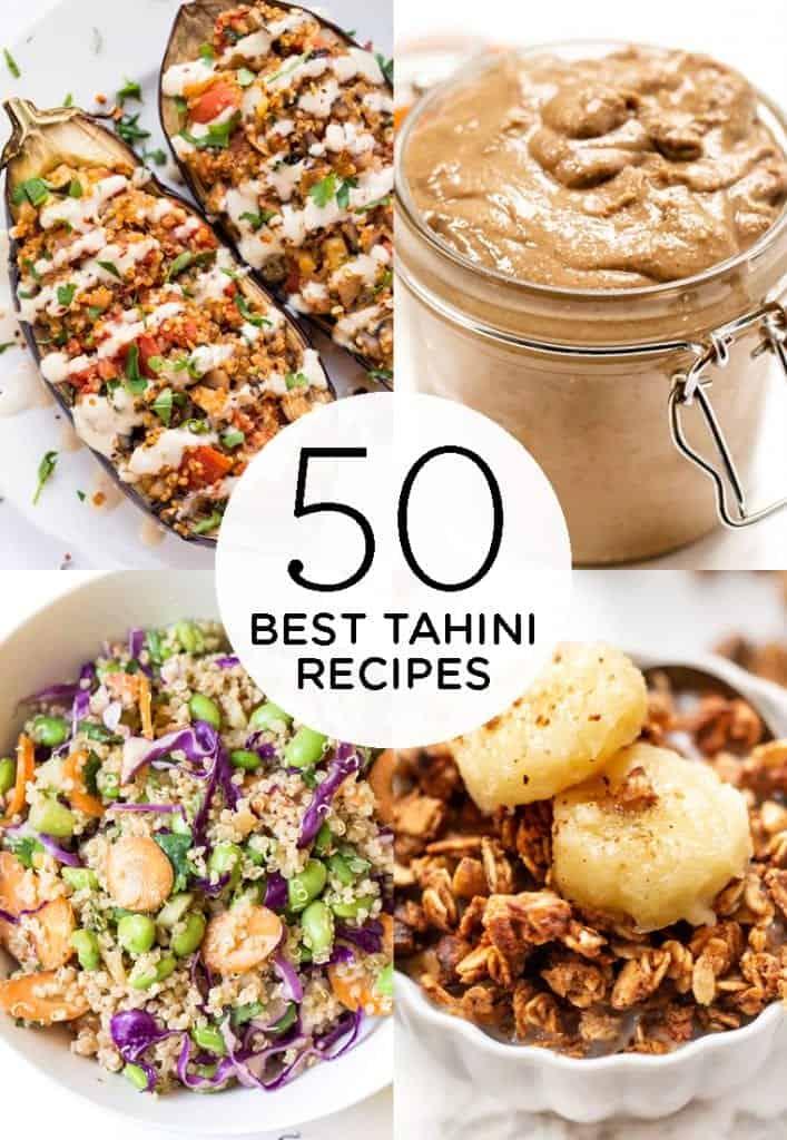 50 best tahini recipes