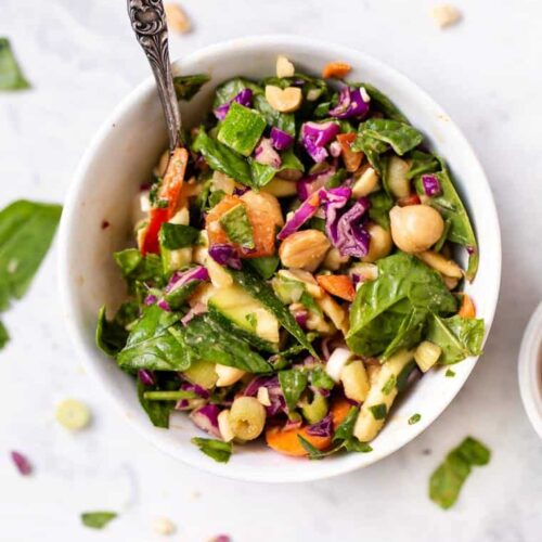 Vegan Thai Chopped Salad