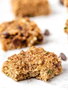 Quinoa Breakfast Bar Recipe with Zucchini