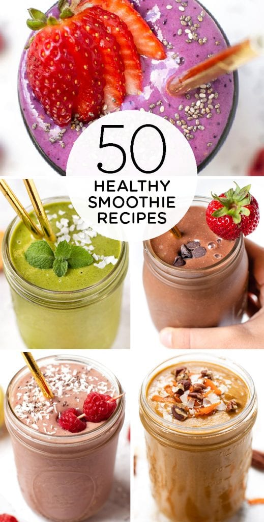 50 healthy smoothie recipes