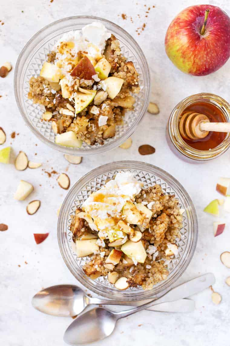 Apple Cinnamon Quinoa Breakfast Bake Recipe