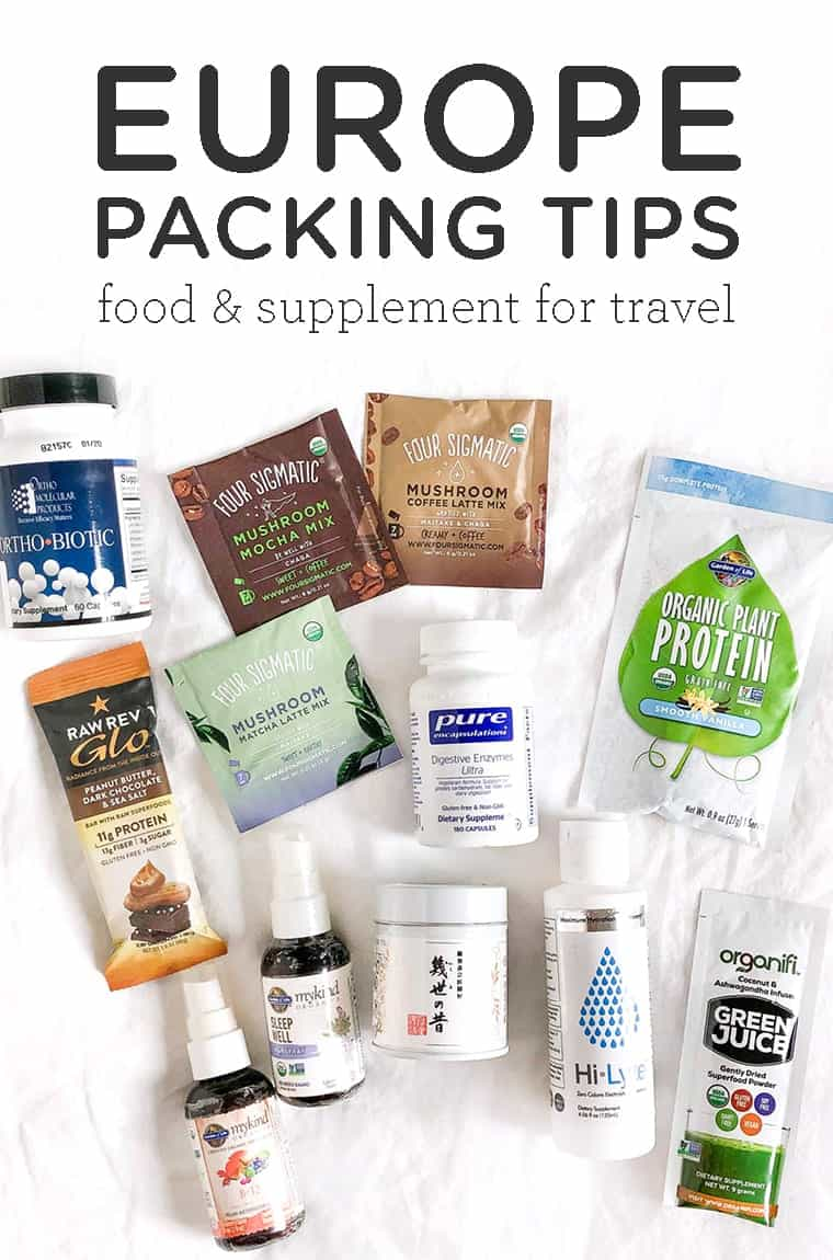 Europe packing tips