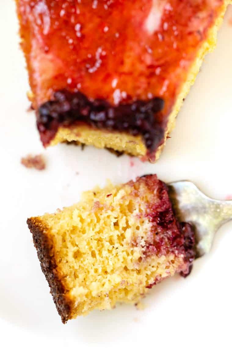 Gluten-Free Almond Flour Cake
