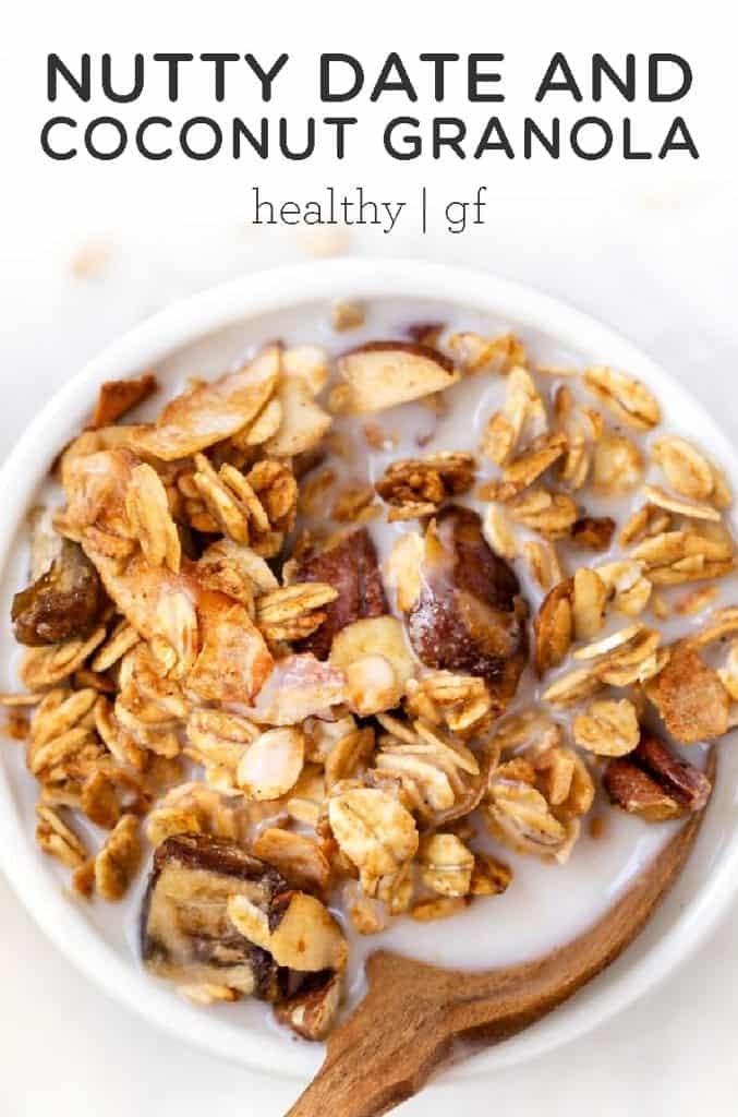Date coconut granola