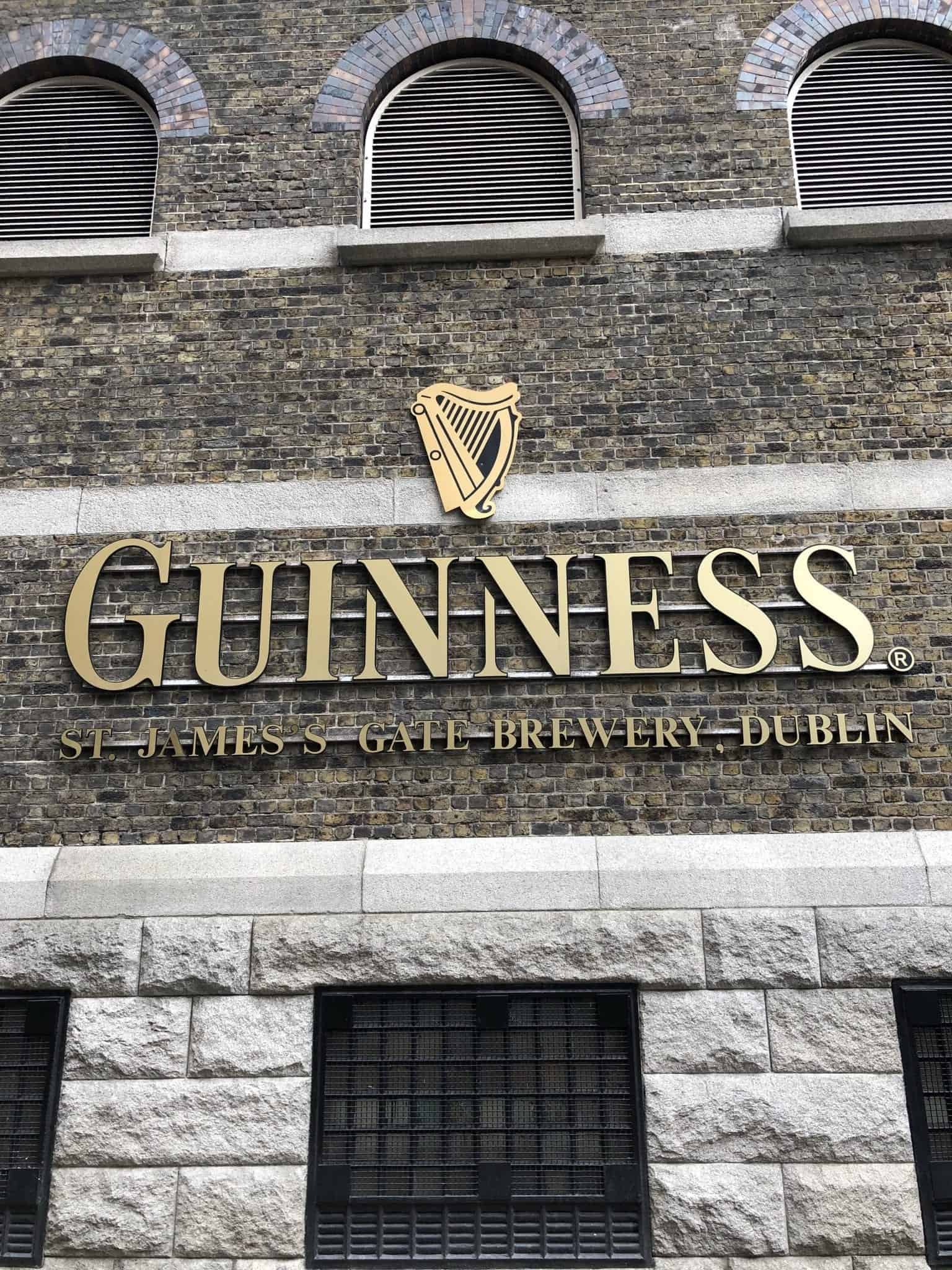 Guiness Tour in Dublin Ireland