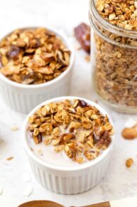 Easy Nutty Granola Recipe