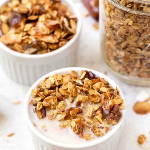 Easy Nutty Granola Recipe