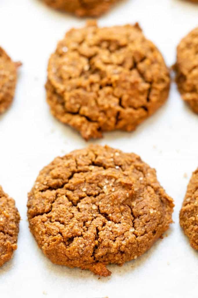 Healthy Peanut Butter Pumpkin Cookies