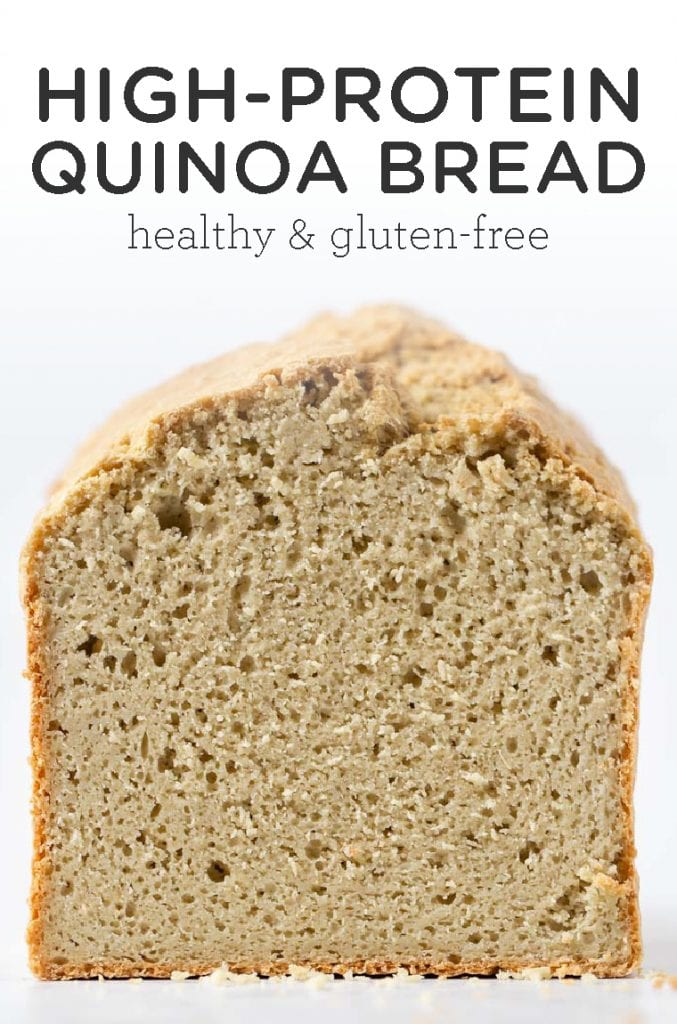 High-Protein Quinoa Bread