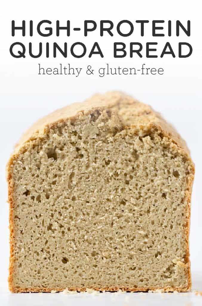 High-Protein Quinoa Bread