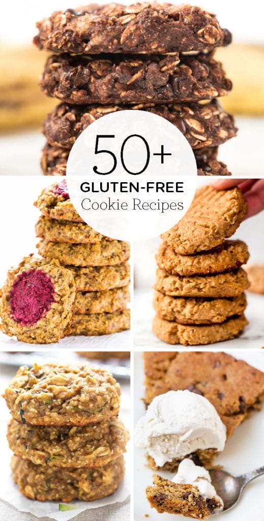 50+ of the BEST Gluten-Free Cookie recipes