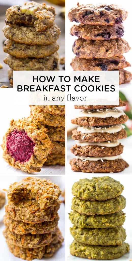 how to make breakfast cookies