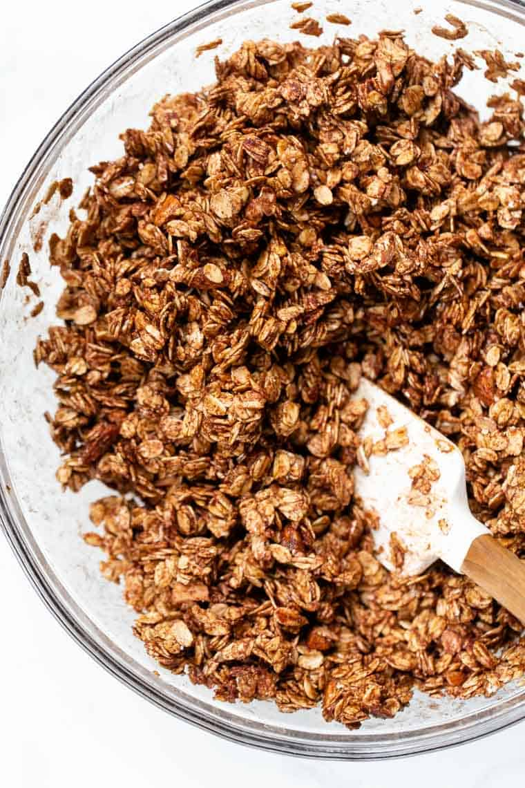 How to make Almond Butter Granola