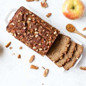 Healthy Banana and Apple Bread
