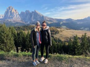 Hiking in the Dolomites in October
