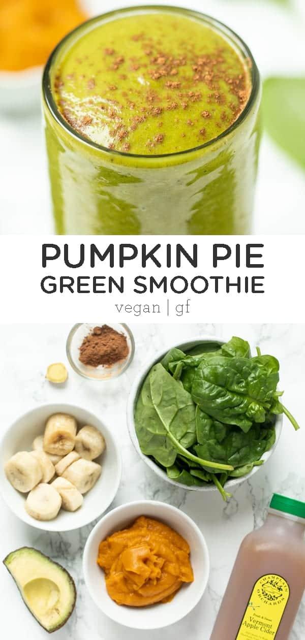 Pumpkin Pie Spinach Smoothie Recipe