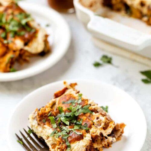 Best Vegan Enchilada Recipe with Black Beans