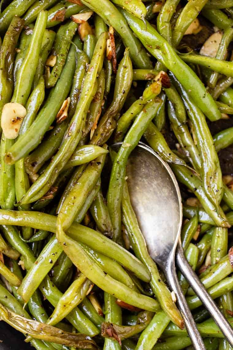 How to make Garlic Green Beans