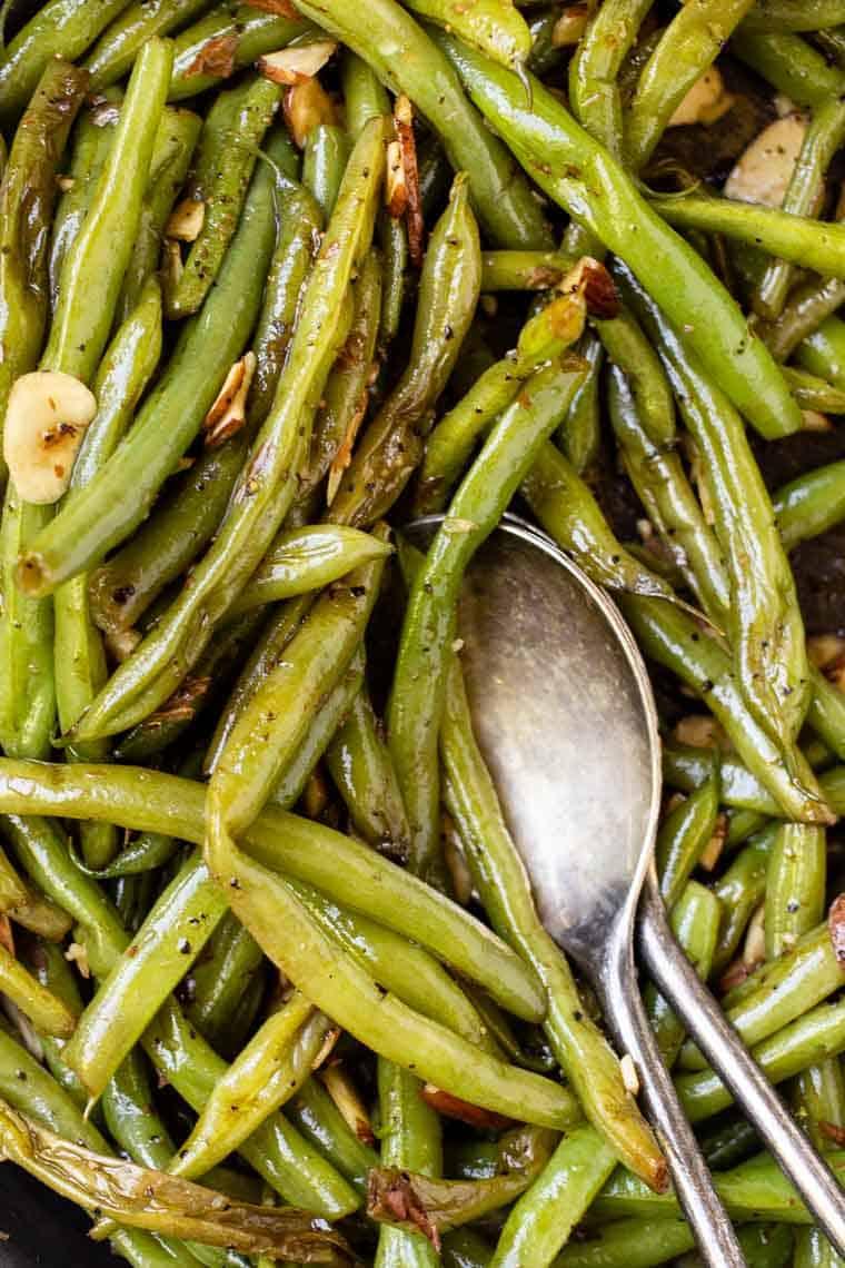 How to make Garlic Green Beans