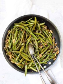 Best Garlic Green Beans Recipe