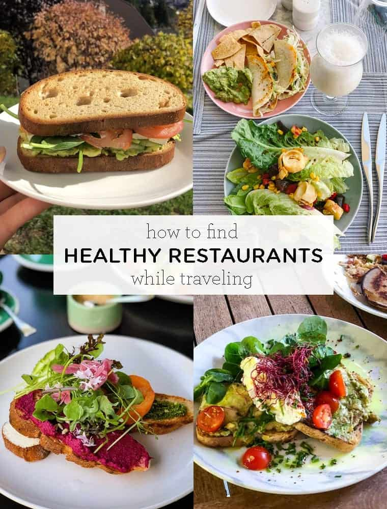 How to Find Healthy Restaurants