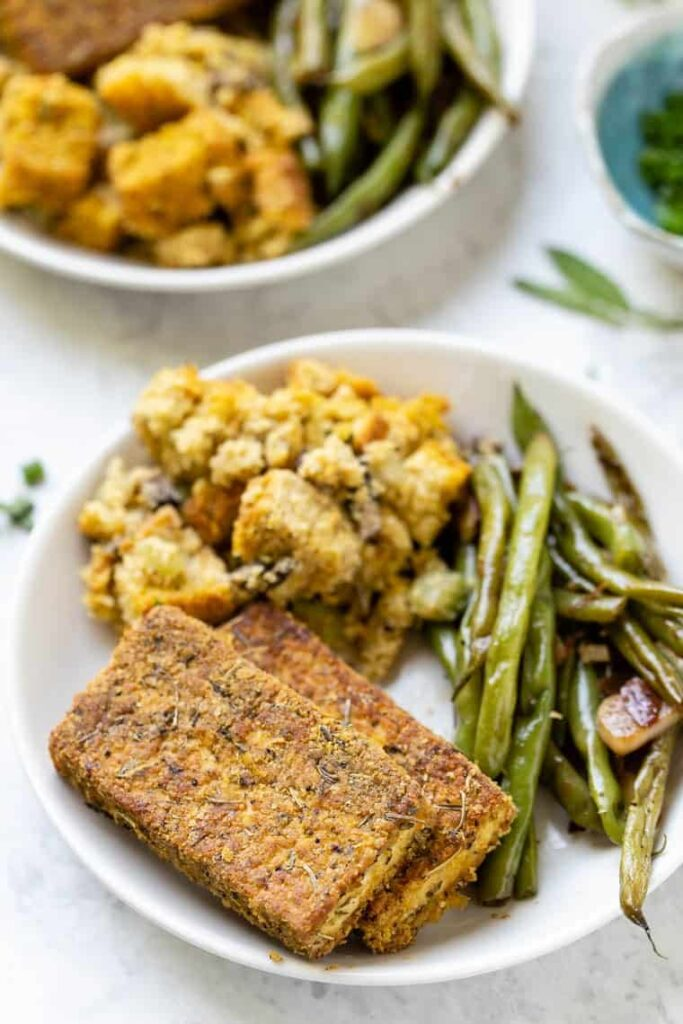 Herb Crusted Tofu Recipe