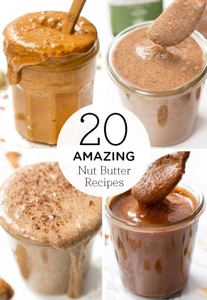 20 amazing nut butter recipes