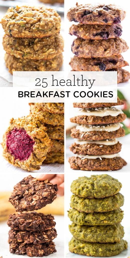 25 healthy breakfast cookie recipes