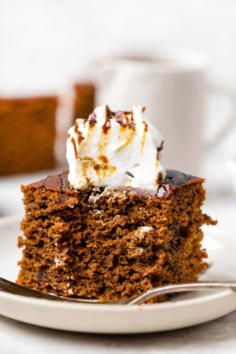 Bite of Healthy Gingerbread Cake