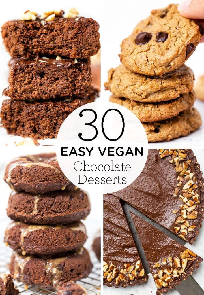 30 vegan chocolate dessert recipes