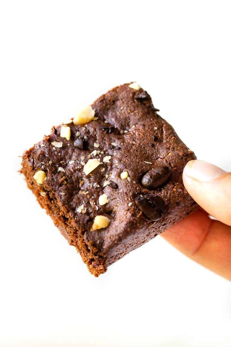 The Perfect Healthy Vegan Brownie