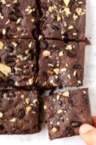 Healthy Espresso Brownies