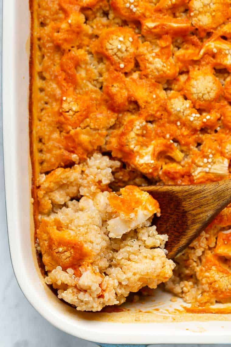 Best Quinoa Casserole Recipe with Cauliflowre