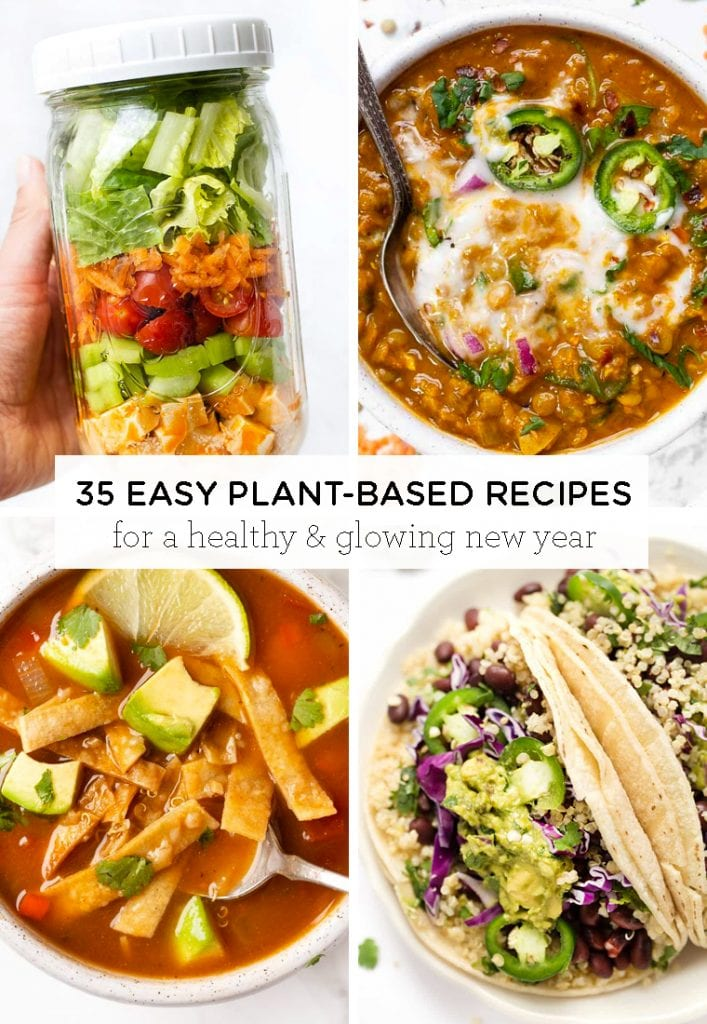 35 Easy Plant Based Recipes