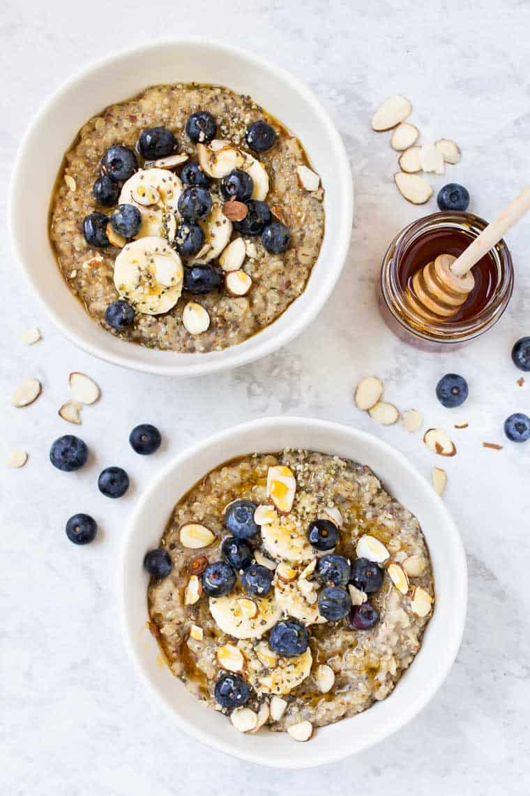 Healthy Quinoa Breakfast Bowl Recipe