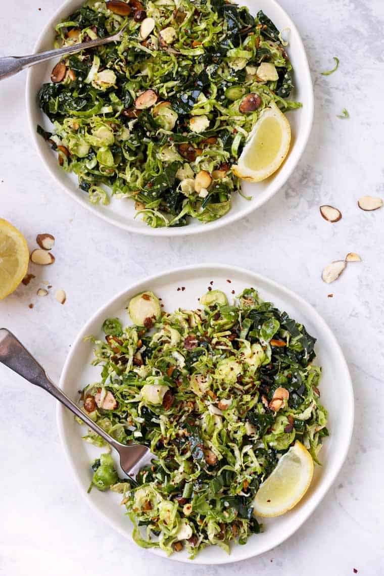 Best Shaved Brussels Sprout Salad Recipe
