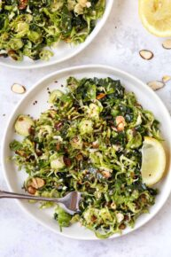 Vegan Brussels Sprout Salad Recipe