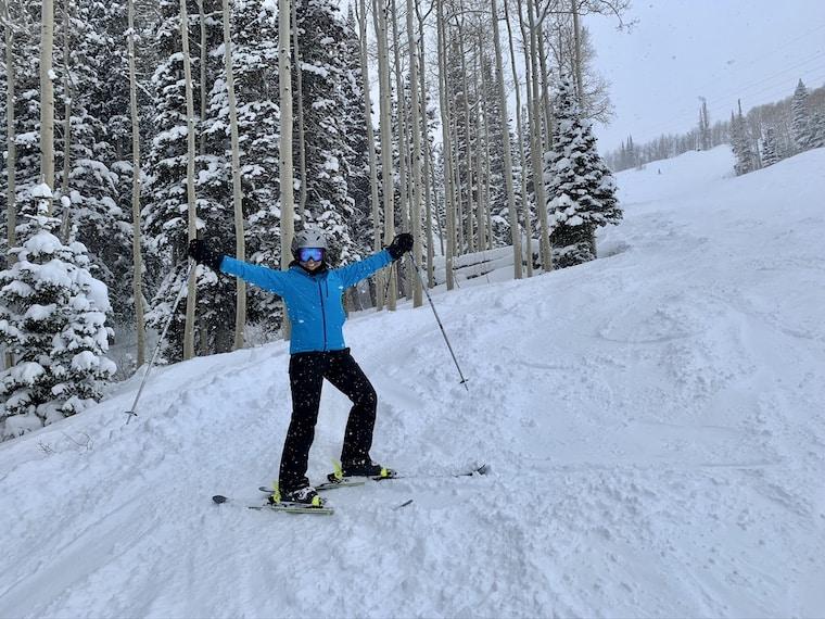 Skiing at Deer Valley Ski Resort