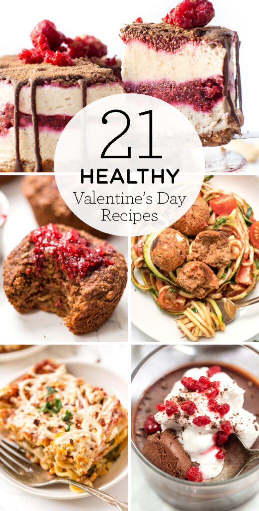 21 healthy Valentine's Day recipes