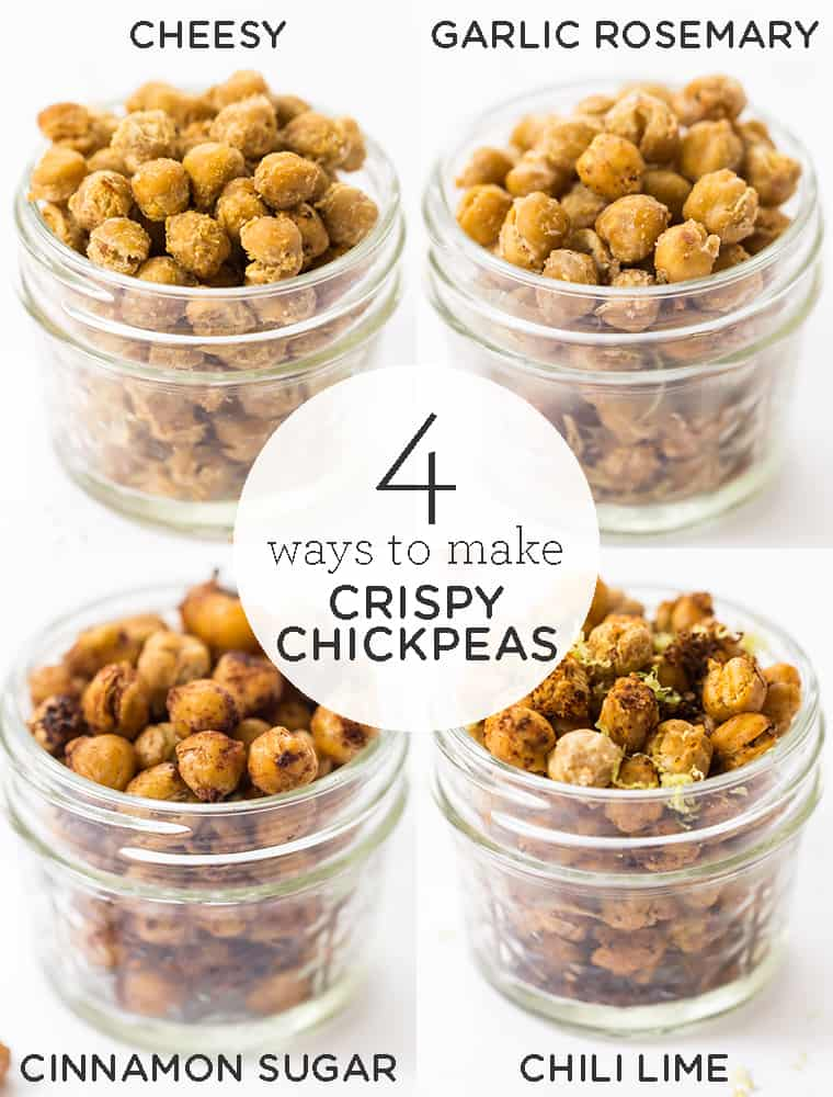 How to Make Crispy Chickpeas 4 Different Ways