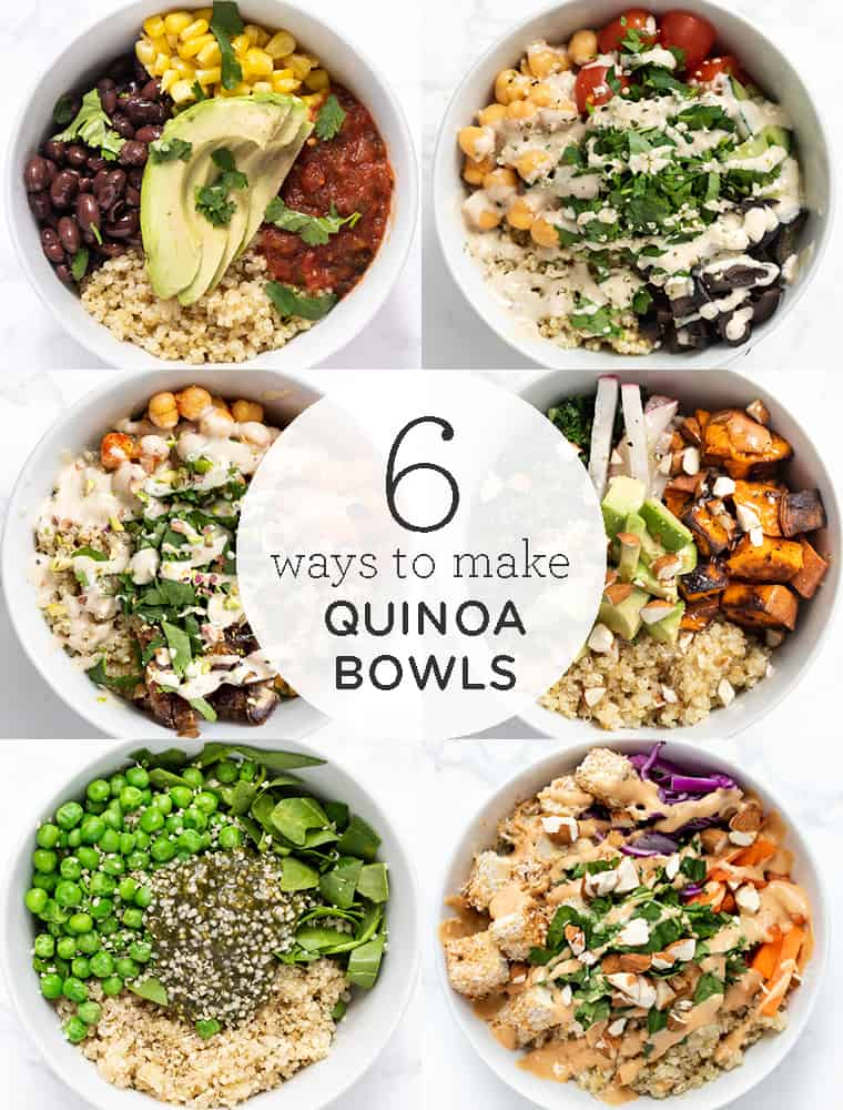 Healthy Quinoa Bowls 6 Delicious Ways Simply Quinoa