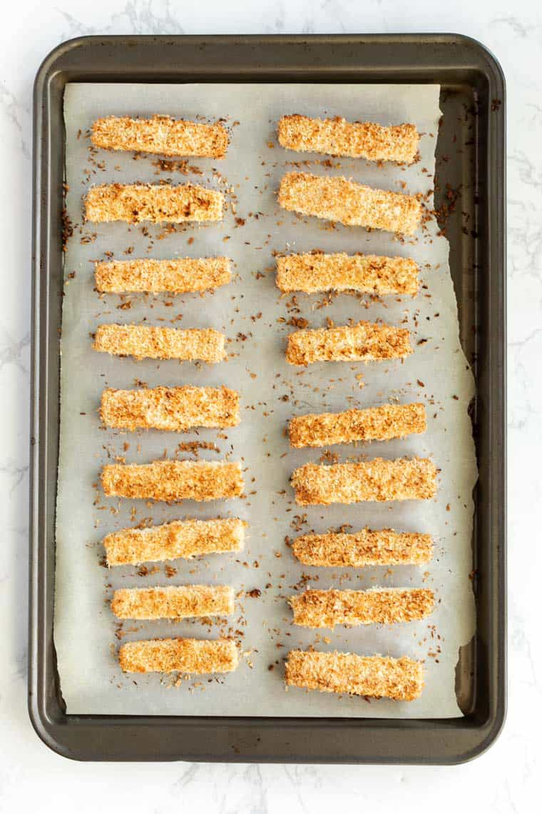 Easy Baked Tofu Tenders