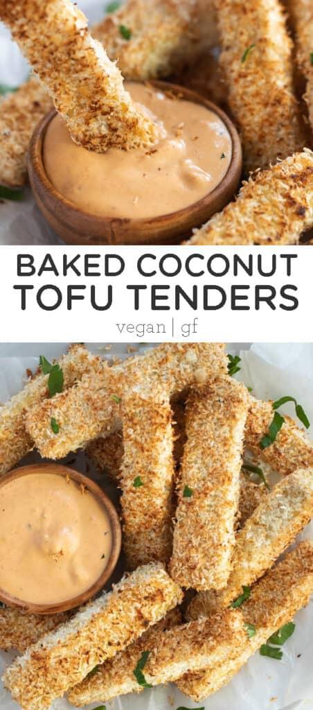 Baked Coconut Tofu Tenders
