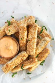 Tofu Tenders with Coconut Breading