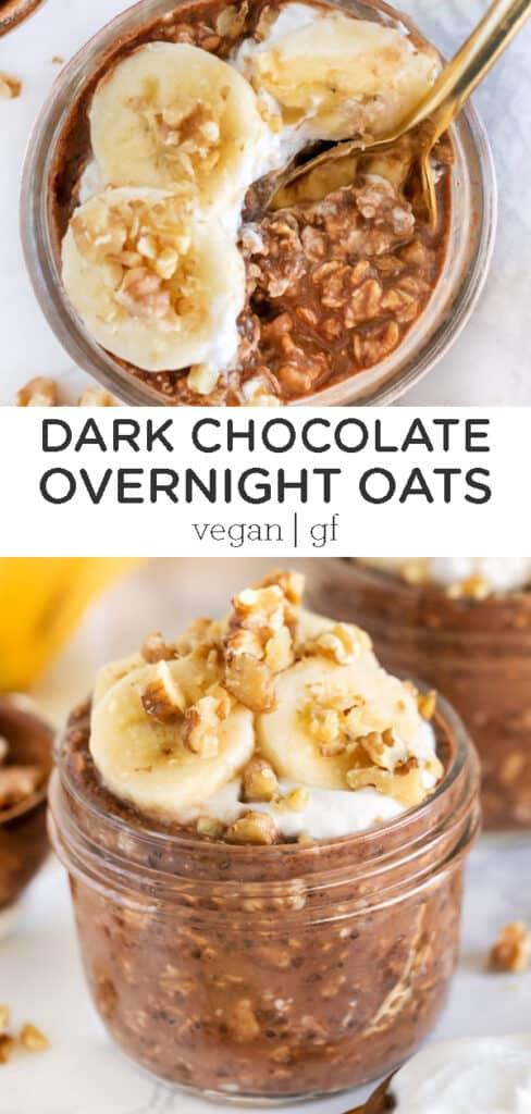 Dark Chocolate Overnight Oats