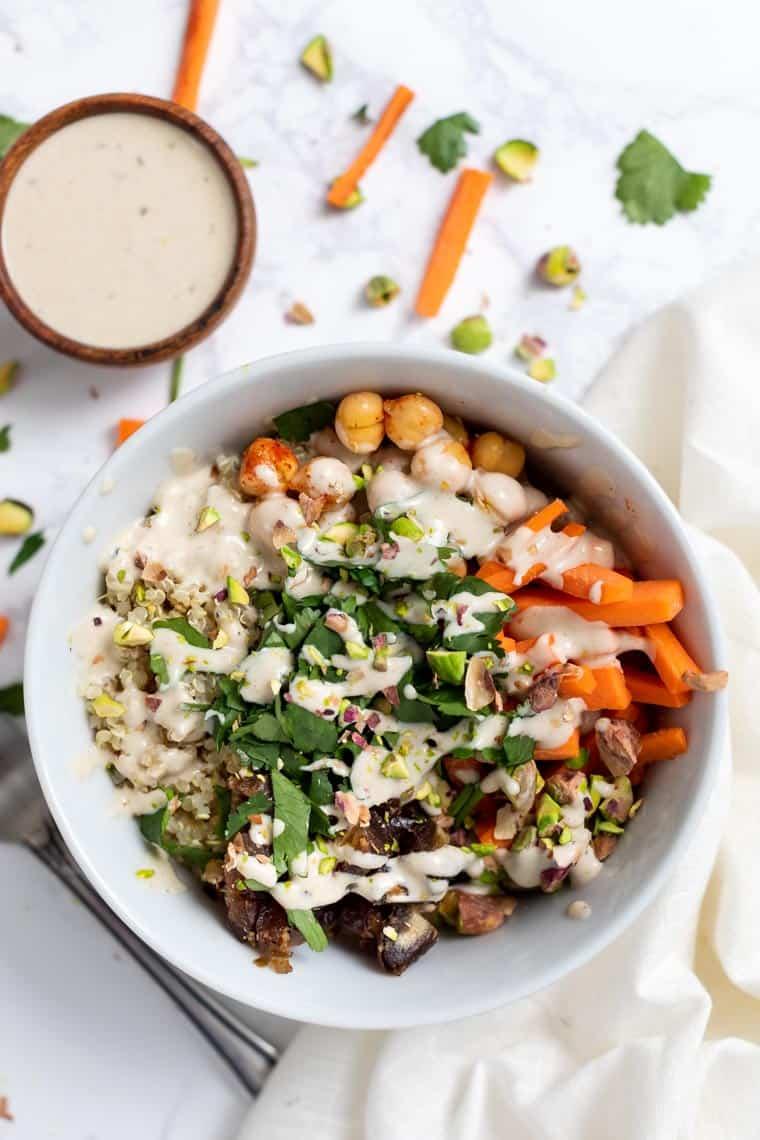 Moroccan Quinoa Bowls