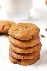 The Best Chewy Vegan Chocolate Chip Cookies