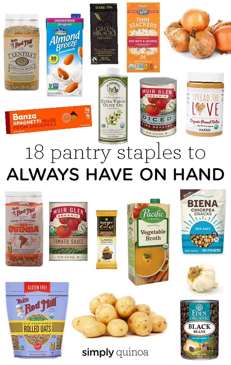 18 Pantry Staples to Get You Through A Crisis
