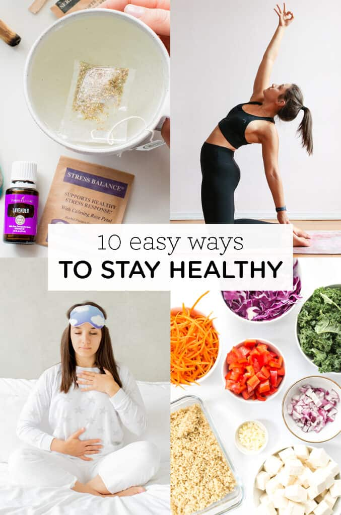 10 easy ways to stay healthy