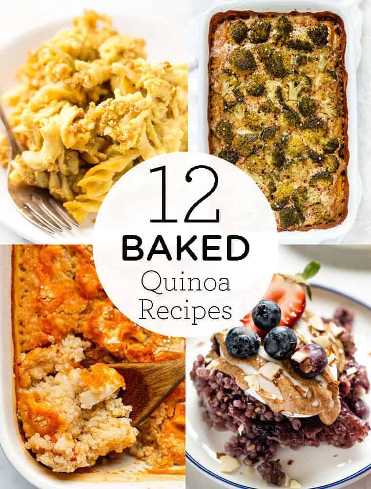 12 Baked Quinoa Recipes
